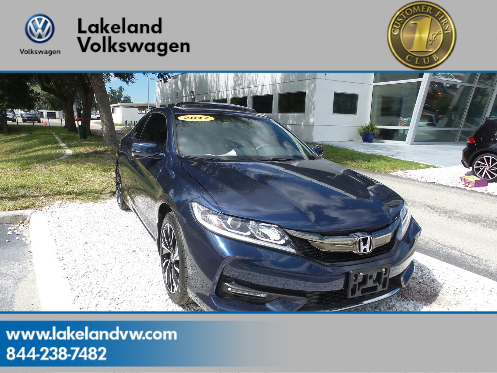 Pre Owned 2017 Honda Accord Coupe Ex L V6 2dr Car In Lakeland