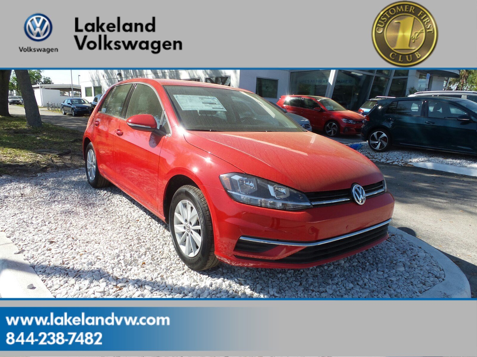 new volkswagen fwd hatchback in lakeland inventory tsi golf se