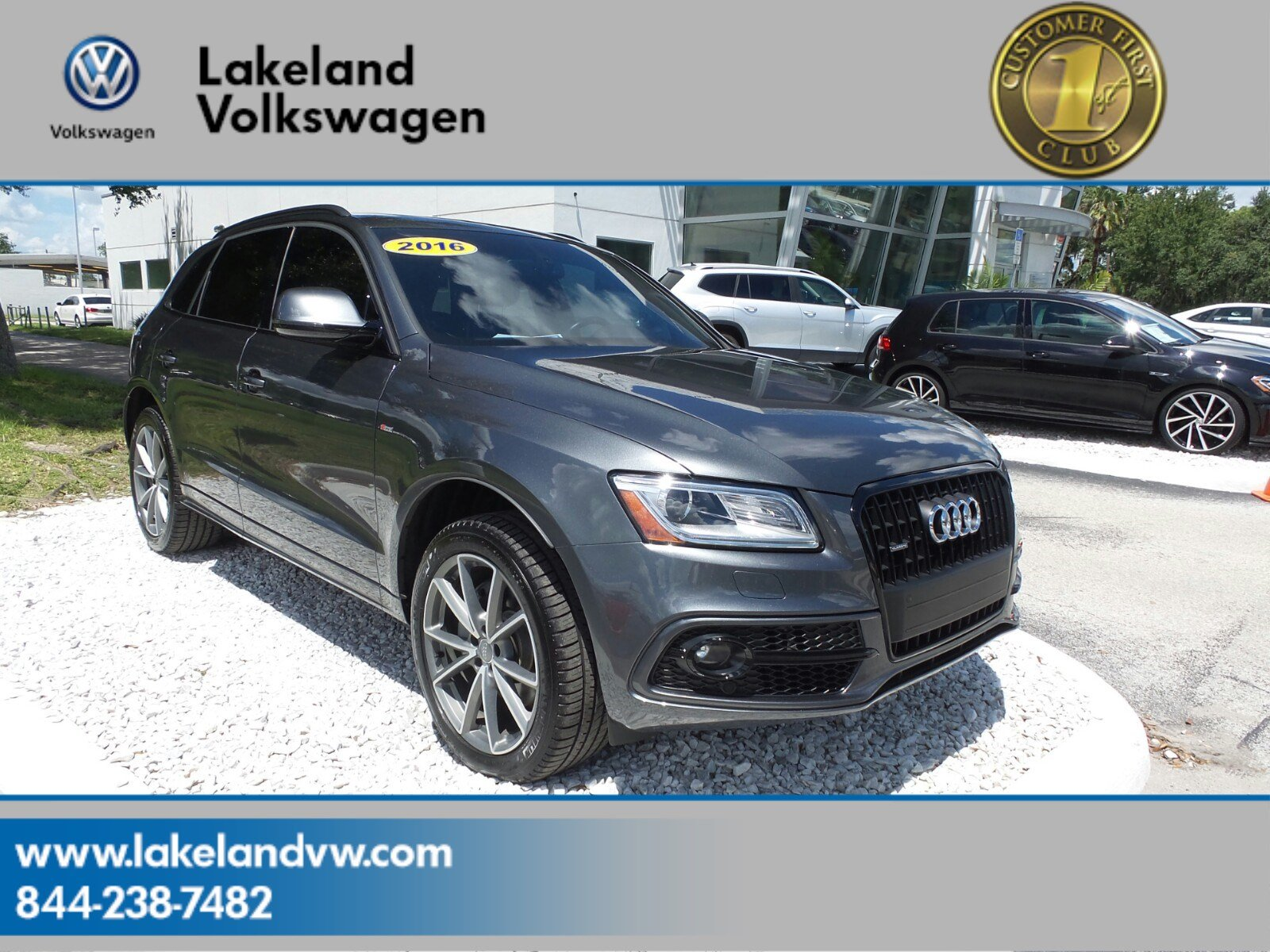 Pre Owned 2016 Audi Q5 Premium Plus Sport Utility in Lakeland