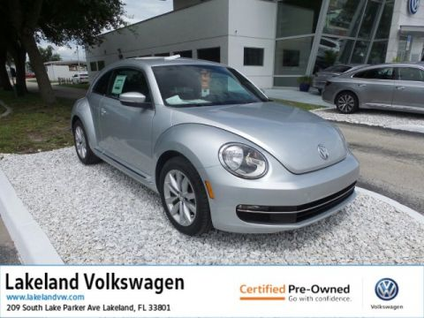 Certified Pre-Owned 2014 Volkswagen Beetle Coupe 2.0L TDI