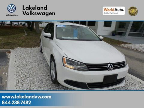 Certified Pre-Owned 2014 Volkswagen Jetta Sedan TDI Value Edition